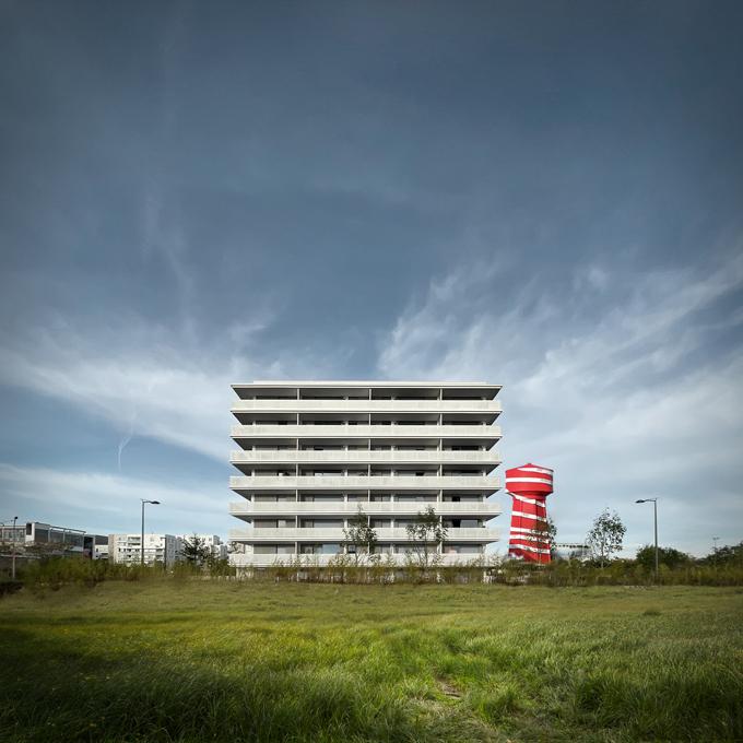 """Amarante"""" : 73 logements collectifs avec crèche - Villeurbanne - Z Architecture"""